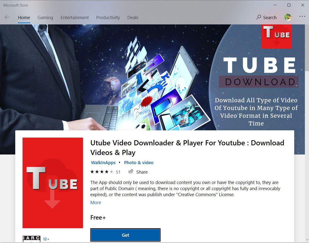 uTube Video Downloader